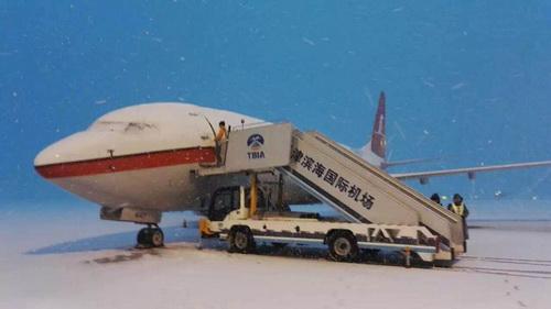 为防止跑滑系统和航空器机身结冰